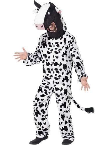 Cow Animal Unisex Fancy Dress Costume