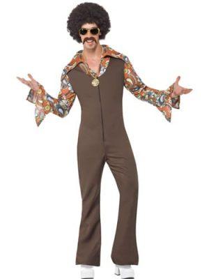 Groovy Boogie Mens Fancy Dress Costume