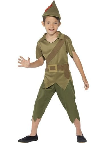 Robin Hood Children's Fancy Dress Costume (NEW)