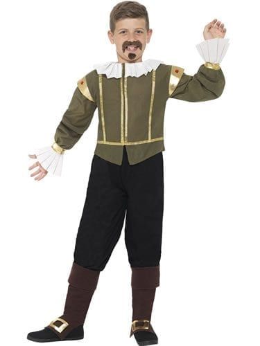 Shakespeare Children's Fancy Dress Costume