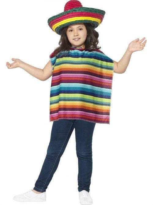 Mexican Instant Kit Children's Fancy Dress Costume