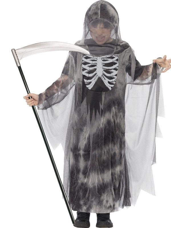 Ghostly Ghoul Children's Halloween Fancy Dress Costume