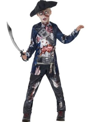 Jolly Rotten Pirate Children's Halloween Fancy Dress Costume