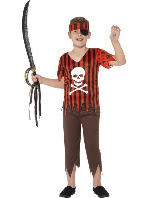 Jolly Roger Pirate Children's Fancy Dress Costume
