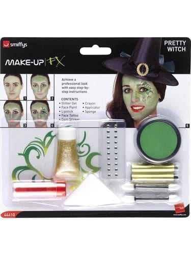 Pretty Witch Make Up Kit contains