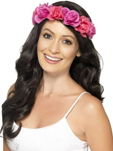 Floral Headband Pink