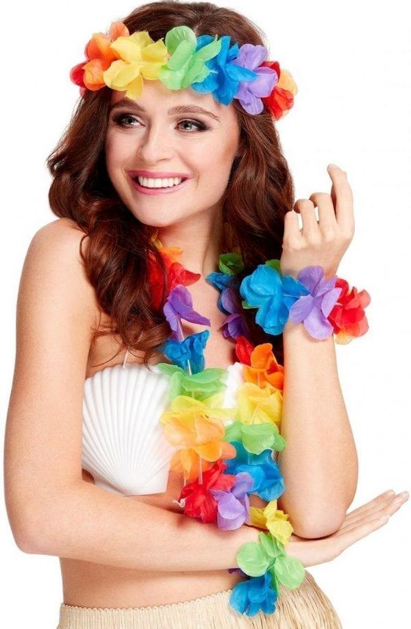 Rainbow Hawaiian Set