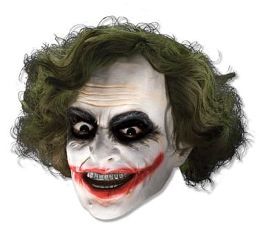 Batman's The Joker 3/4 Mask with Hair
