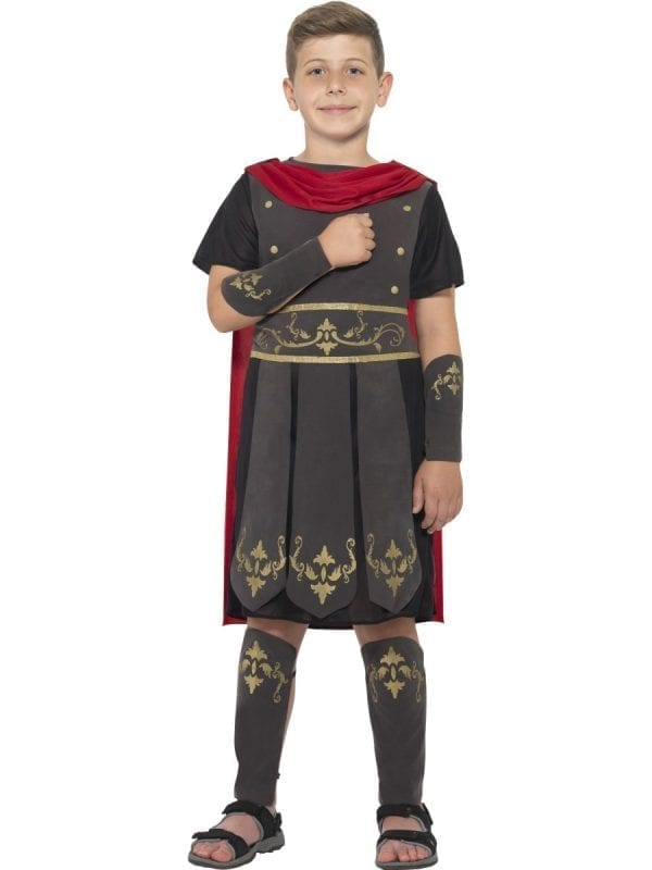 Roman Soldier Children's Fancy Dress Costume