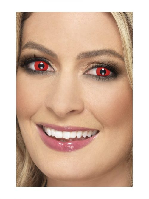Accessoreyes Bloody Red 1 Day Wear Contact Lenses