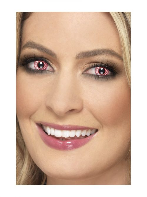 Accessoreyes Zombie Red 1 Day Wear Contact Lenses