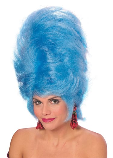 Beehive Wig Blue