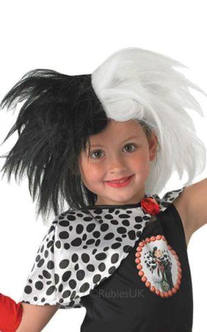Cruella Children's Wig