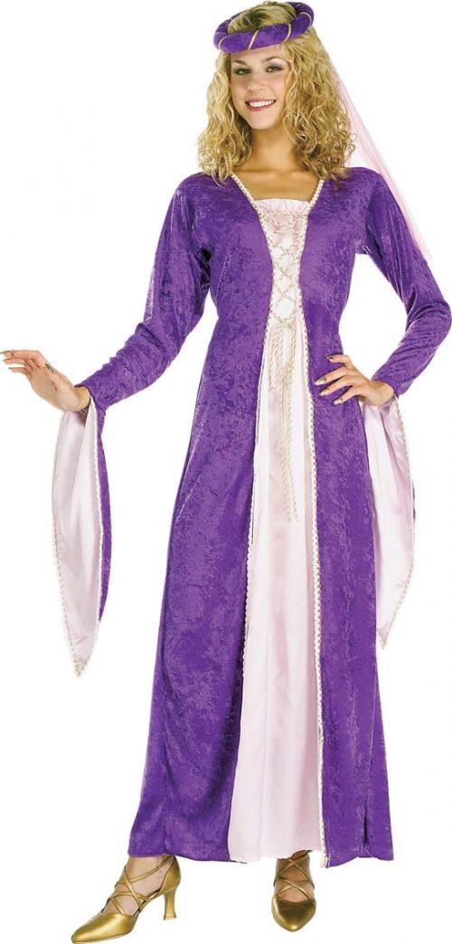 Renaissance Princess Ladies Fancy Dress Costume