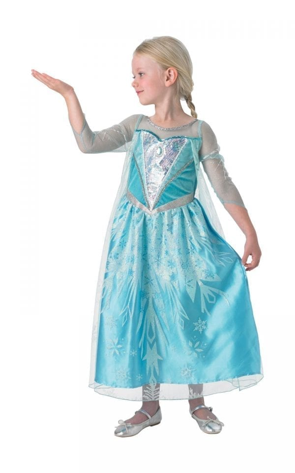 Disney's Frozen Premium Elsa Children's Fancy Dress Costume