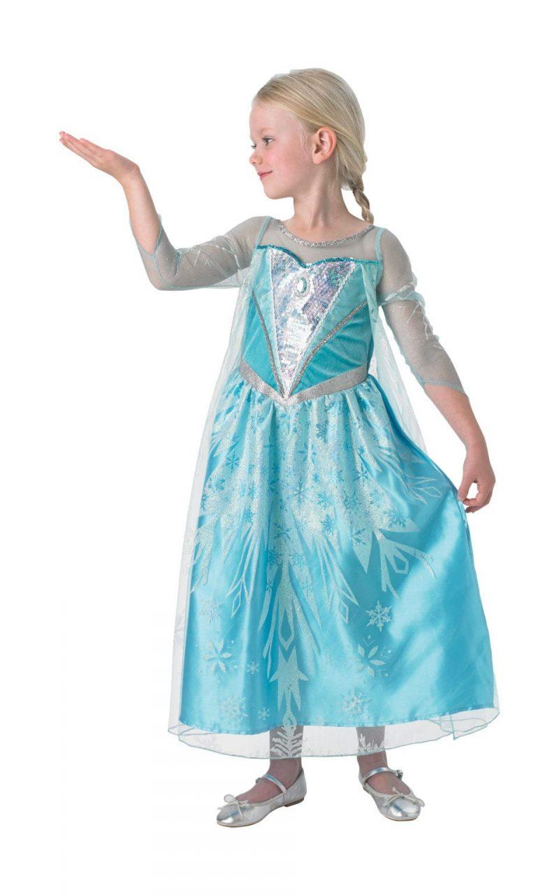 Disney's Frozen Premium Elsa Children's Fancy Dress Costume