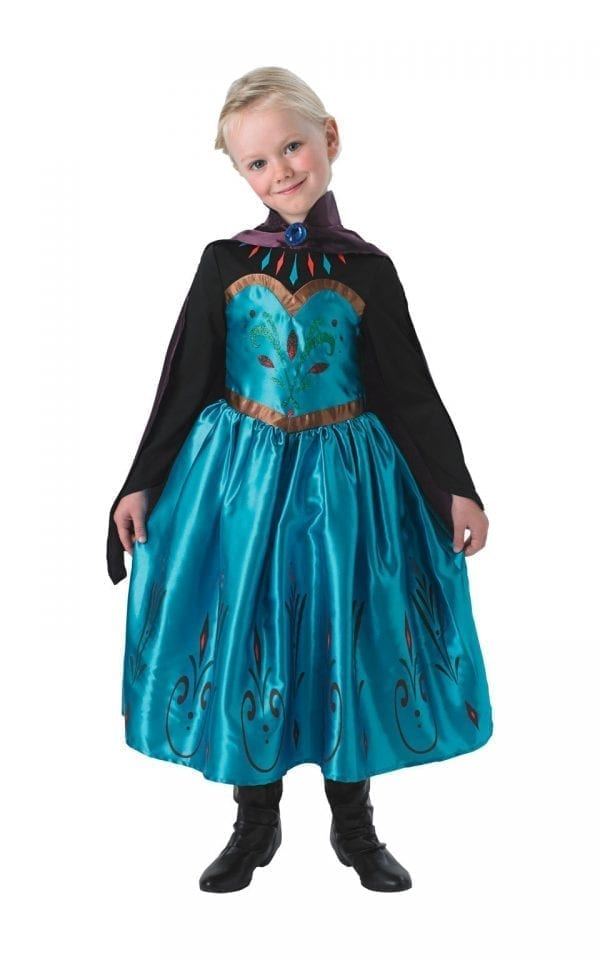 Disney's Frozen Coronation Elsa Children's Fancy Dress Costume