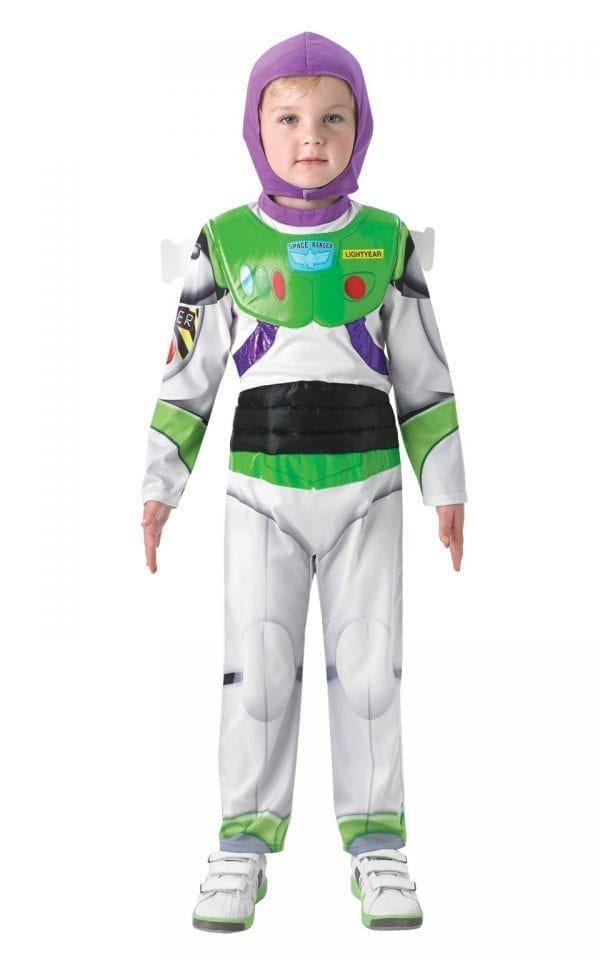 Disney Pixar's Toy Story Buzz Lightyear Deluxe Childrens Fancy Dress Costume