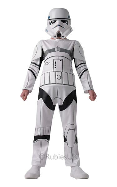 Star Wars Stormtrooper Children's Fancy Dress Costume