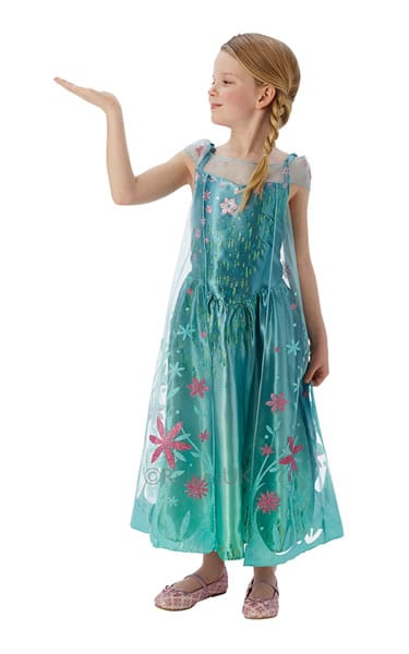 Disney's Frozen Fever Elsa Children's Fancy Dress Costume