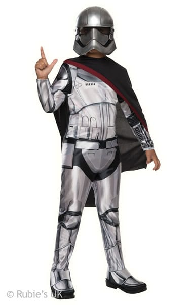 Star Wars Captain Phasma Children's Fancy Dress Costume
