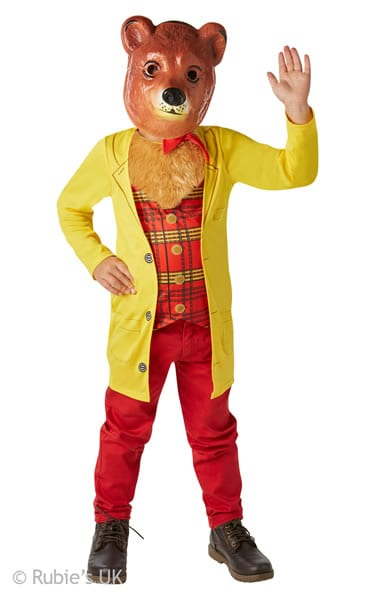 Mr Bear Children's Fancy Dress Costume
