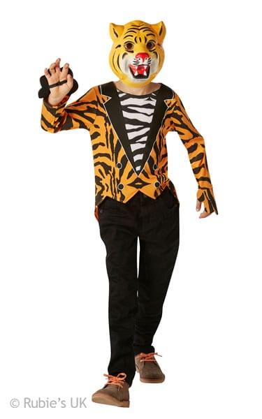 Mr Tiger Children's Fancy Dress Costume