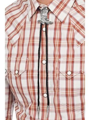 Cowboy Bootlace Tie