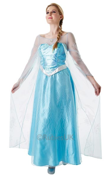 Disney's Frozen Elsa Ladies Fancy Dress Costume