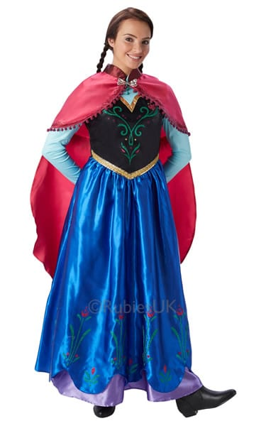 Disney's Frozen Anna Ladies Fancy Dress Costume
