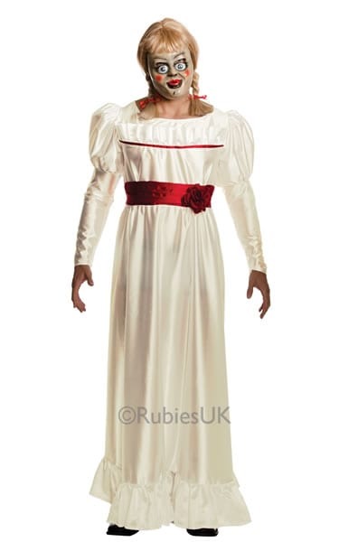 The Conjuring Annabelle Ladies Fancy Dress Costume
