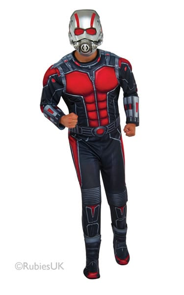 Marvel Avengers Ant-Man Deluxe Men's Fancy Dress Costume