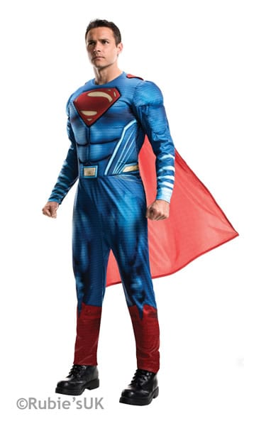 Dawn of Justice Superman Men's Fancy Dress Costume