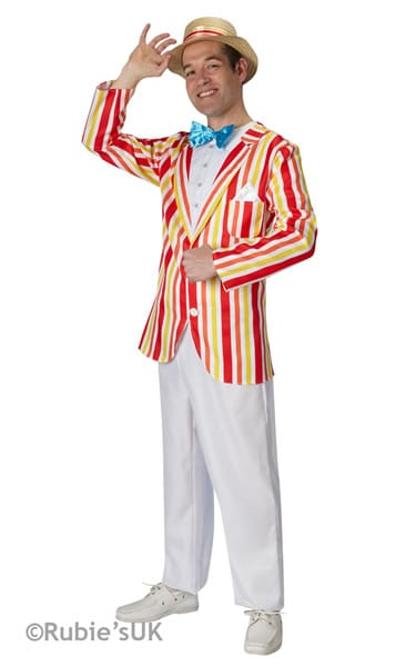 Disney's Mary Poppins 'Bert' Jolly Holiday Men's Fancy Dress Costume