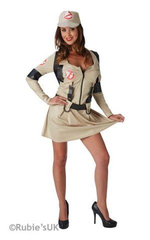Secret Wishes Ghostbusters Dress Ladies Fancy Dress Costume