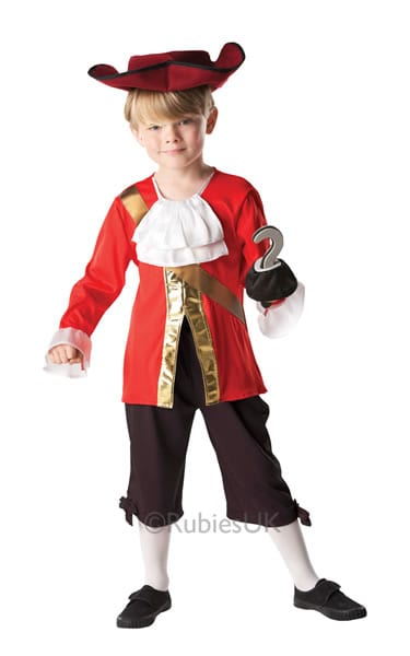 Disney's Captain Hook Children's Fancy Dress Costume