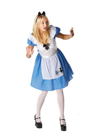 Disney's Alice in Wonderland Ladies Fancy Dress Costume
