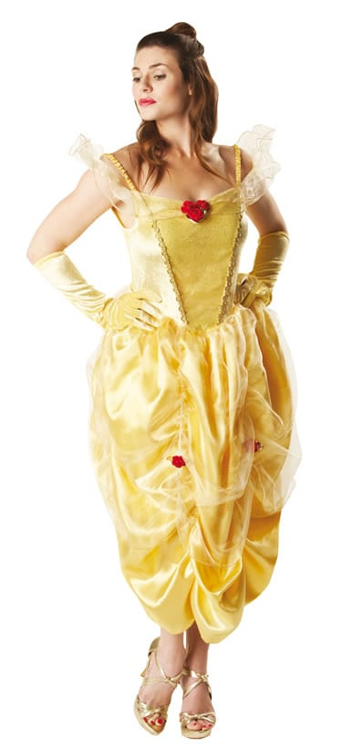 Disney's Beauty & The Beast Belle Ladies Fancy Dress Costume