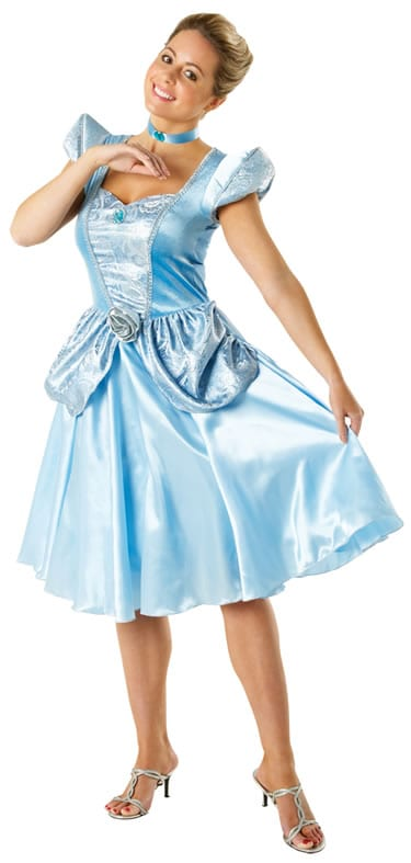 Disney's Cinderella Ladies Fancy Dress Costume