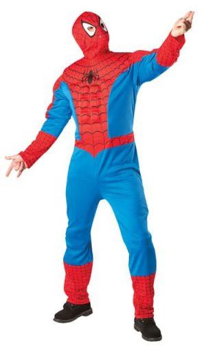 Marvel Hero Premium Spiderman Men's Fancy Dress Costume (DISC)
