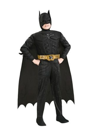 Batman The Dark Knight Rises Deluxe Children's Super Hero Fancy Dress Costume