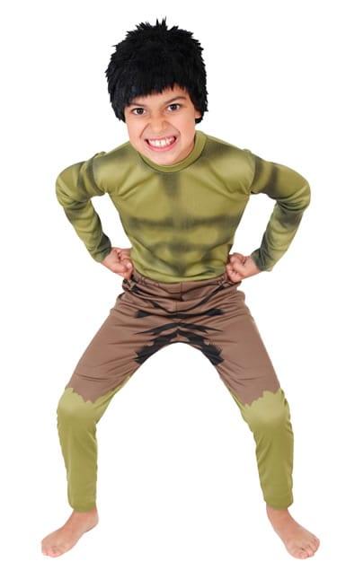 Marvel Avengers The Hulk Classic Children's Fancy Dress Costume