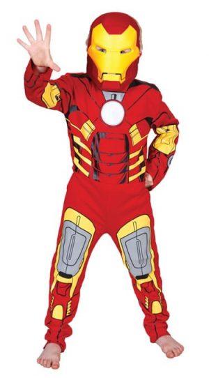 Marvel Avengers Iron Man Children's Fancy Dress Costume