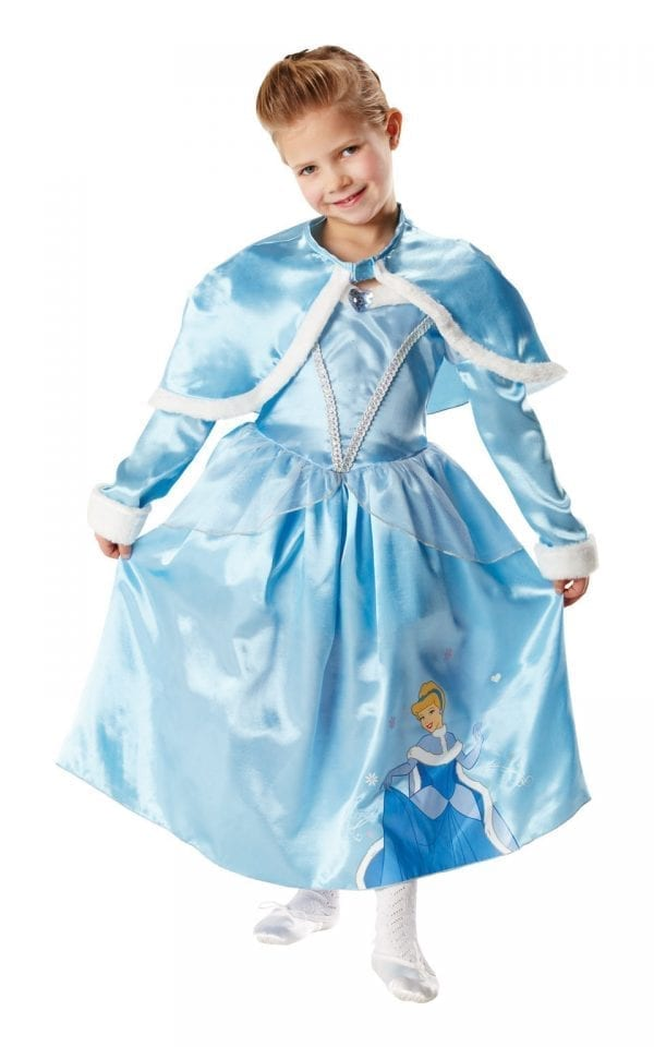 Disney's Winter Wonderland Cinderella Children's Fancy Dress Costu