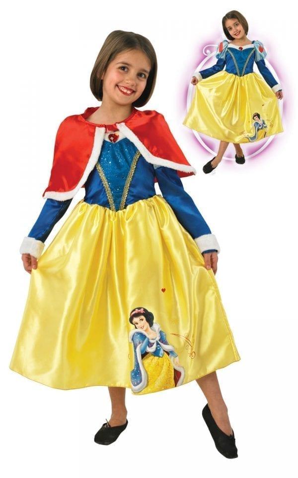 Disney's Winter Wonderland Snow White Childrens Fancy Dress Costume