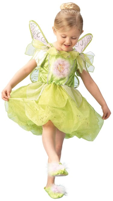Disney's Platinum Tinkerbell Children's Fancy Dress Costume