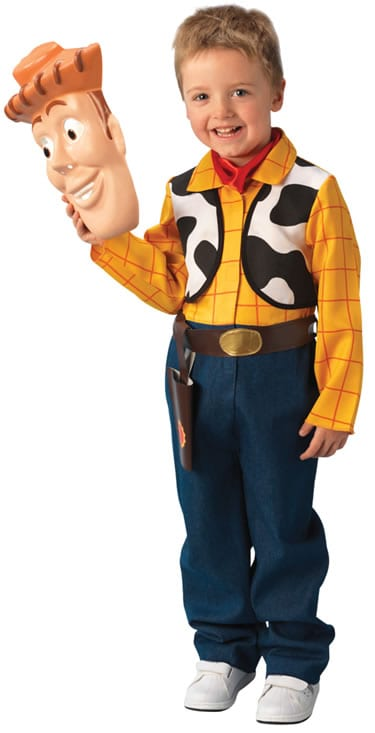 Disney Pixar's Toy Story Woody Deluxe Childrens Fancy Dress Costume