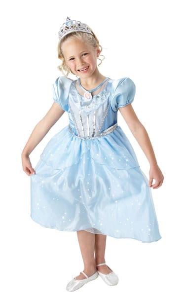 Disney's Sparkle Cinderella Childrens Fancy Dress Costume (DISC)