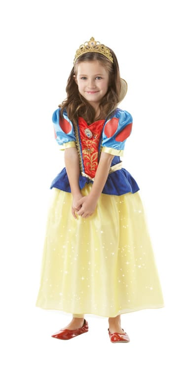 Disney's Sparkle Snow White Children's Fancy Dress Costume (DISC