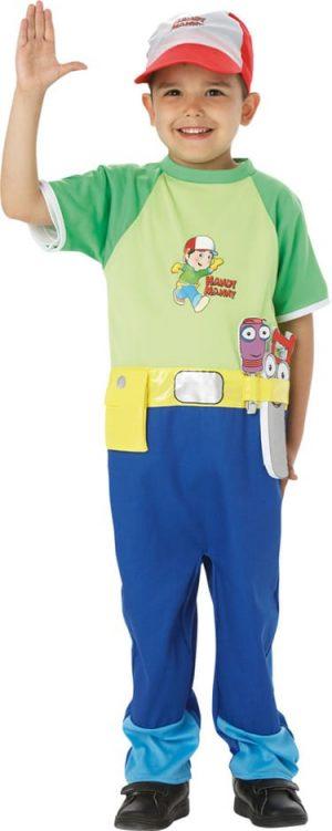 Handy Manny Childrens Fancy Dress Costume